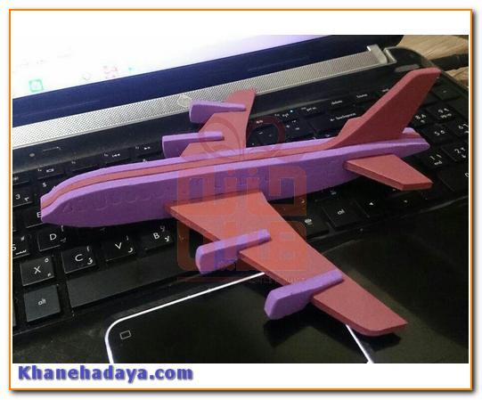 پازل سه بعدی فومی با چاپ و برش اختصاصی