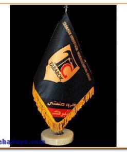 پرچم رومیزی پایه سنگی