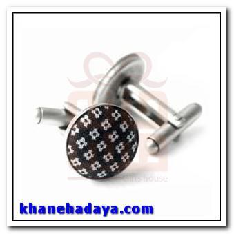دکمه سردست اختصاصی با پایه چرخان